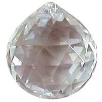 Boule 30 mm cristal a facettes Feng shui