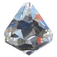 Diamant 40 mm cristal à facettes