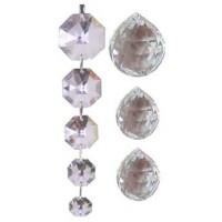 Cristaux Feng Shui Energie, set de 4 cristaux