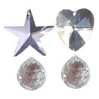 Cristaux Feng Shui Harmonie, set de 4 cristaux