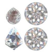 Cristaux Feng Shui Sérénité, set de 4 cristaux