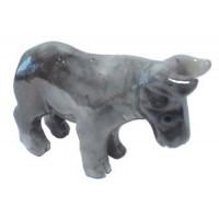 Buffle statuette en pierre