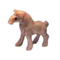 Cheval statuette en pierre