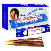 Pack de 12 boites baguettes Encens Nag Champa