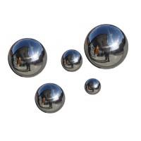Boule metal chrome