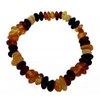 Bracelet ambre multicolore Enfant
