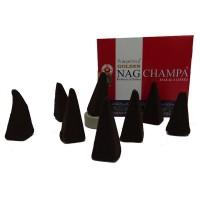 Encens cones Golden Nag Champa
