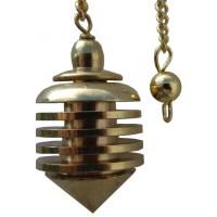 Pendule métal doré Sensor
