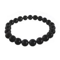 Bracelet élastique Onyx noir