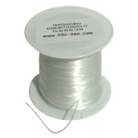 Fil élastique silicone
