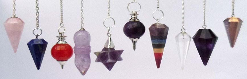 Pendules en pierre radiesthésie