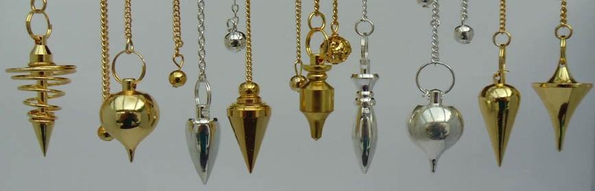 Pendules en métal radiesthésie