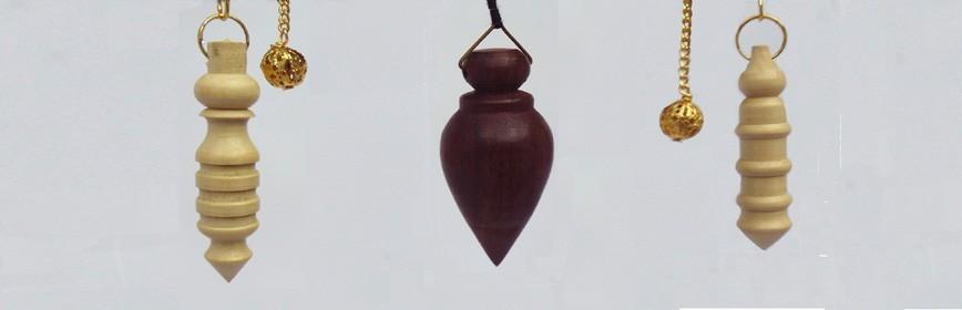 Pendules en bois radiesthésie