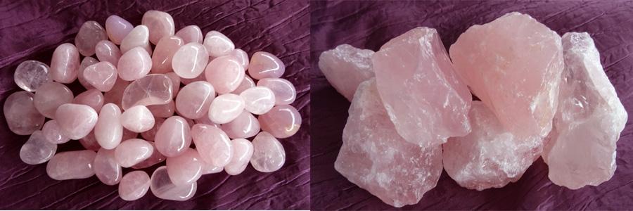 94dd5f4936 quartz rose, vertus bijoux et pierres - Feng Shui - Tiki Zen