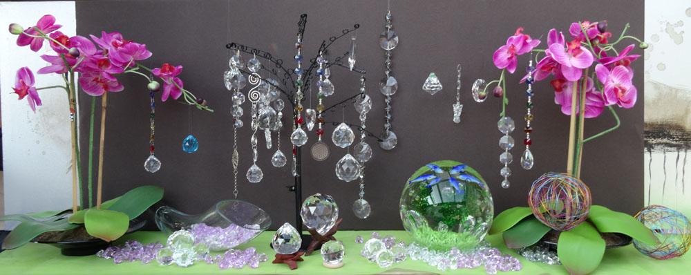cristal à facettes