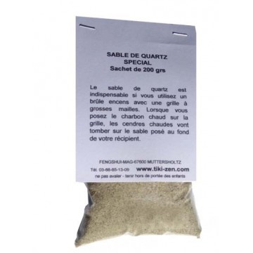 Sable de Quartz pour charbons  ardents