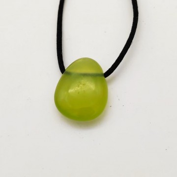 Pendentif goutte jade chinois
